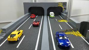 高速道路の構造体模型(ジオラマ)を作りました♪